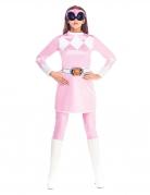 Déguisement combinaison rose Power Rangers Mighty Morphin™ femme