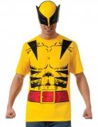 T-shirt avec masque Wolverine™ adulte