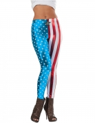 Legging métallisé Captain America™ femme