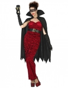 Déguisement comtesse vampire rouge femme