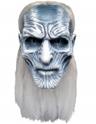 Masque Game of thrones™ marcheur blanc luxe adulte