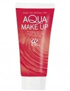 Tube de maquillage à l'eau rouge 30 ml