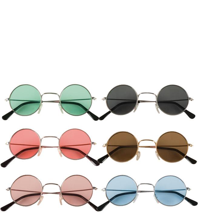 lunete ronde hippie