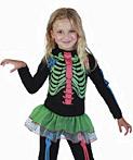 Kostüme 77 Skelett M�dchen