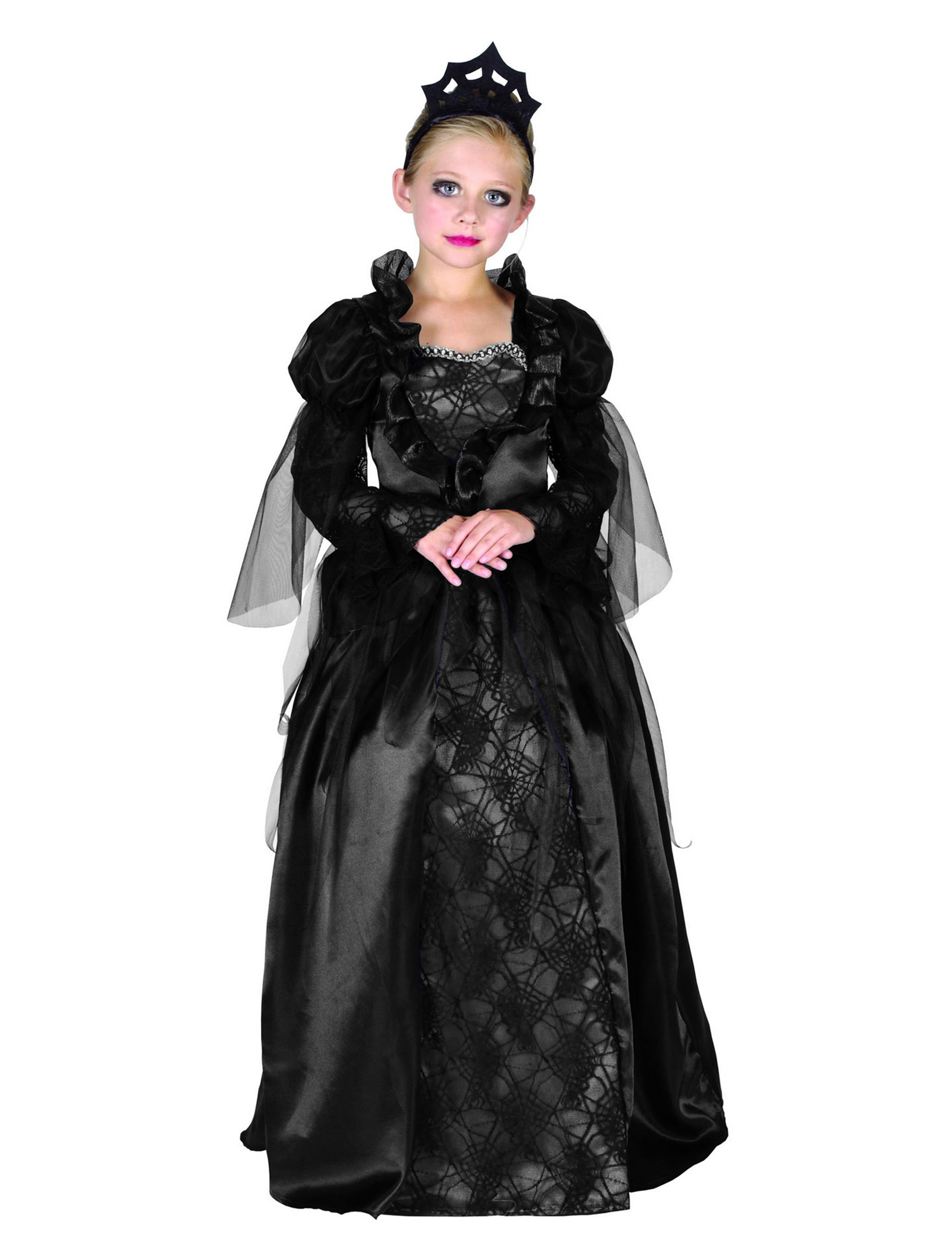 Vampire countess costume for girls