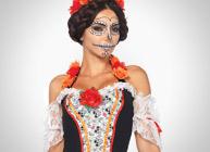 déguisements dia de los muertos halloween