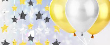 décoration de salle nouvel an