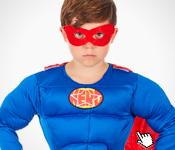 super héros pour Carnaval