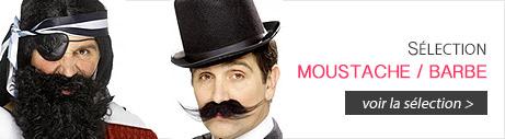 Moustaches et barbes