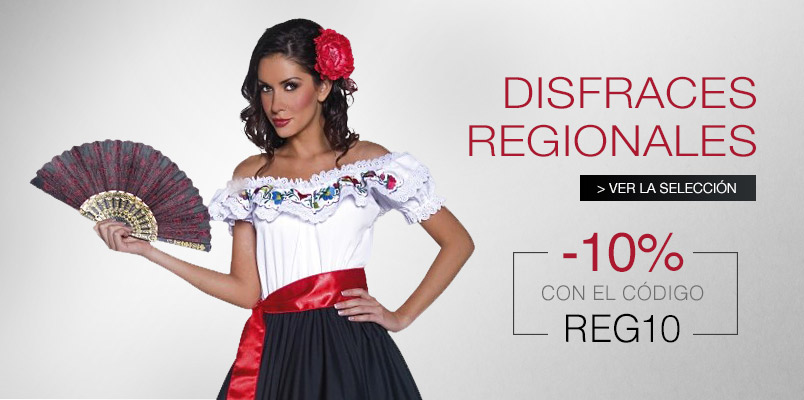 Disfraces regionales