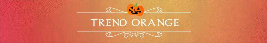 Orange Trend Ideen und Anleitung für Halloween