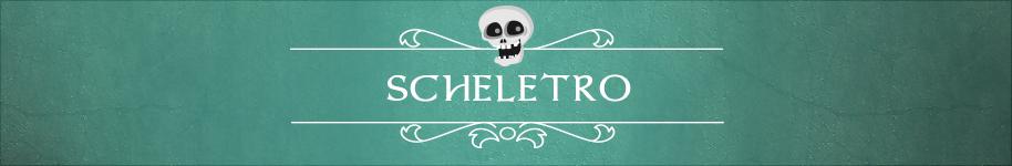 Per la notte di Halloween scegli un tema intramontabile: Scheletro