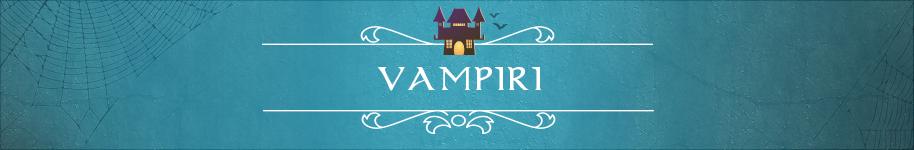 idee per halloween tema vampiri