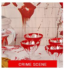 crime scene halloween