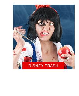 Disney trash halloween