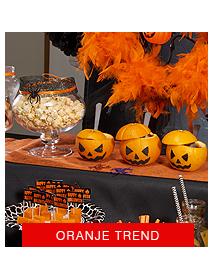 oranje halloween