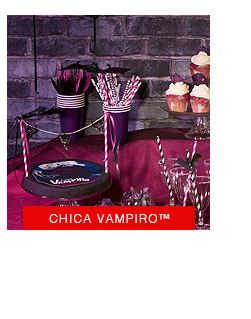 Chica vampiro halloween