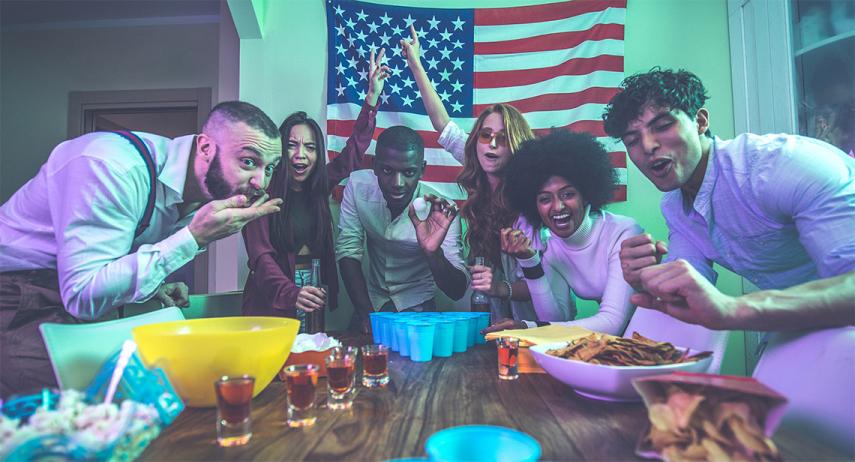 Organiser une soirée à thème américain réussie
