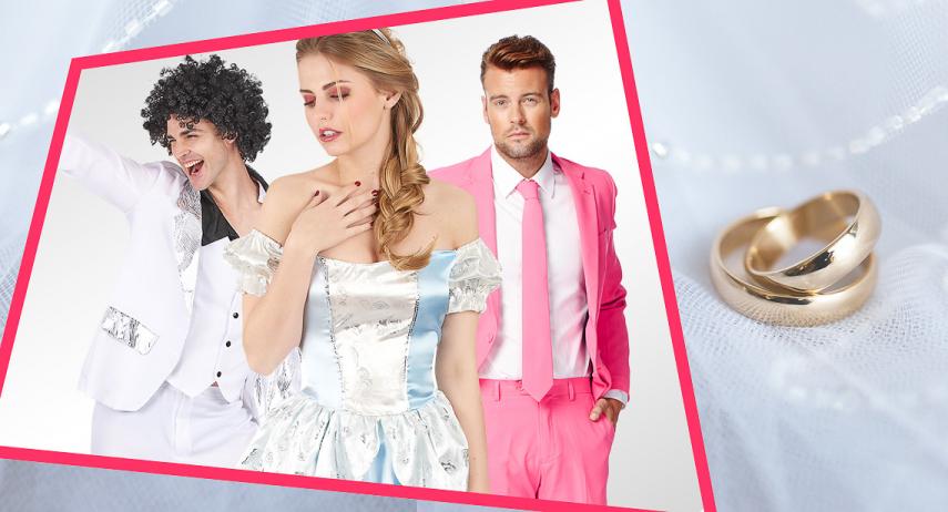 Les meilleures idées de déguisements pour un mariage