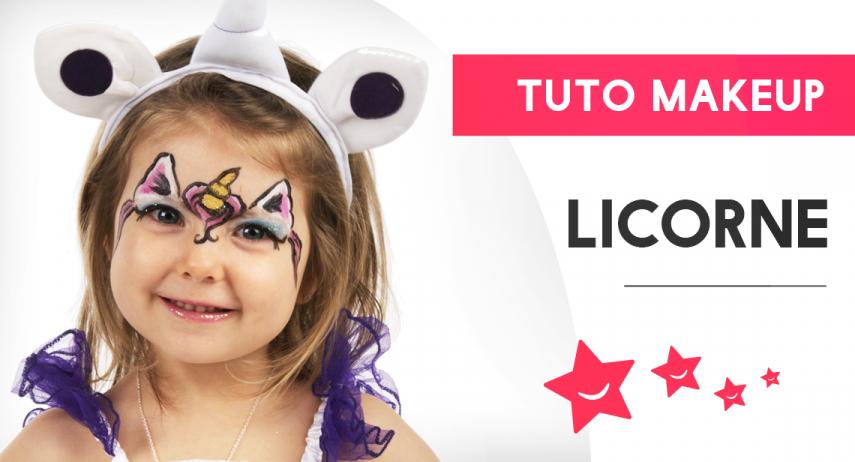 Réaliser un maquillage de licorne pour enfant : notre tuto