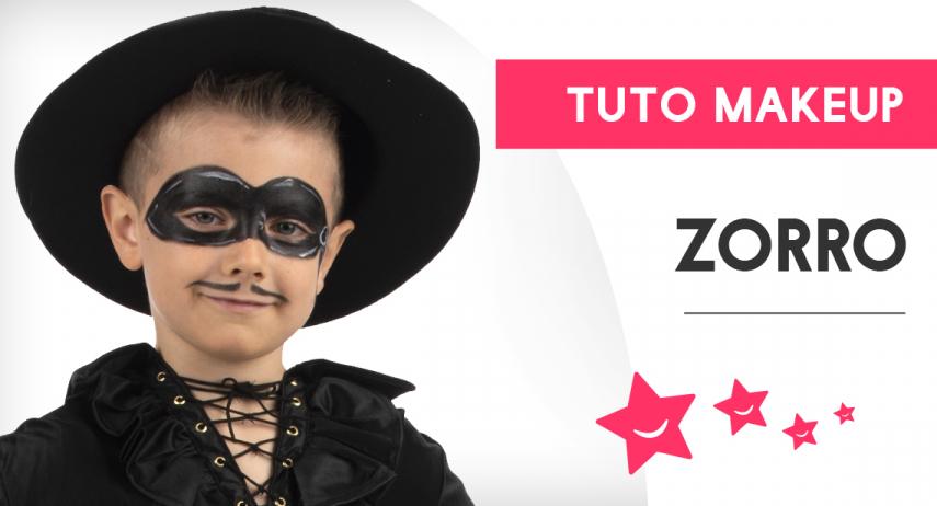 Comment réaliser un maquillage de Zorro pour enfant ?