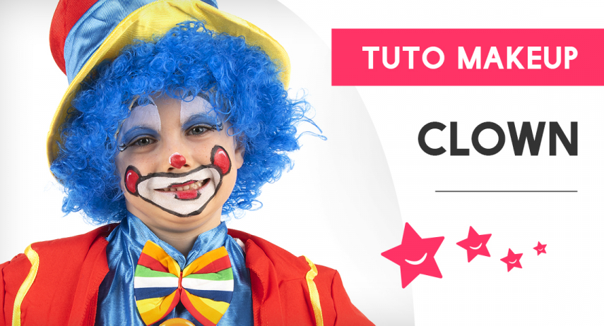 Comment réaliser un maquillage de clown heureux ?