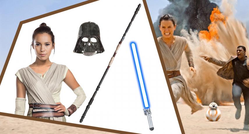 Comment se déguiser en personnage de Star Wars ?