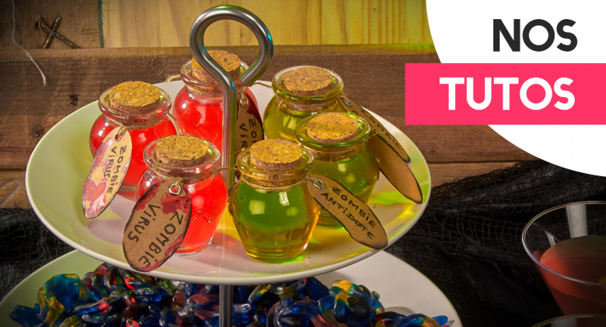 DIY Halloween : les boissons de zombies