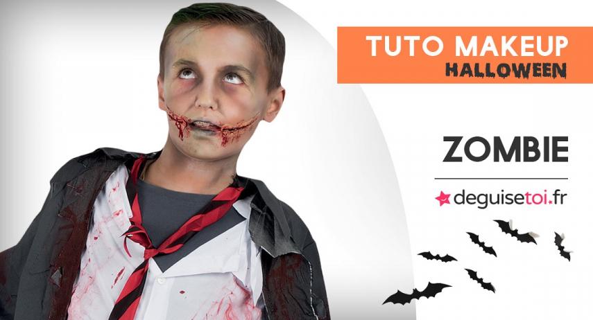 Comment faire un maquillage de zombie pour enfant ?
