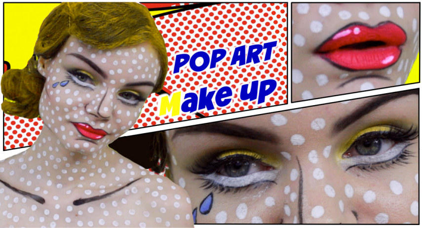Comment réussir un maquillage pop-art ?