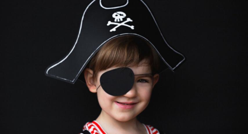 Un déguisement de pirate fait maison