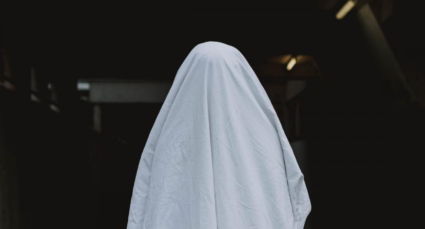 Costume de fantôme fait maison