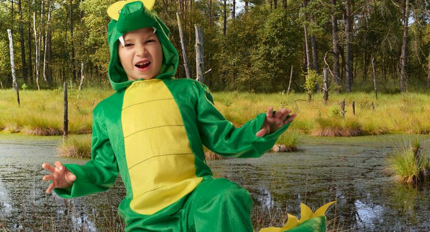 Comment fabriquer un déguisement de crocodile ?