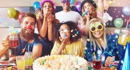 Le top6 des thèmes de soirée d'anniversaire