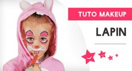 Tutoriel de maquillage de lapin pour un enfant, suis le guide !