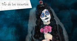 Maquillage Dia de los muertos : tuto facile et rapide