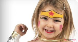 Maquillage Wonder Woman : le tuto facile