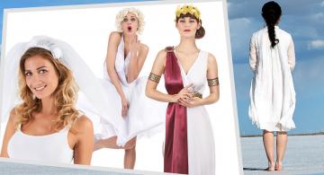 Comment transformer une robe blanche en déguisement ?