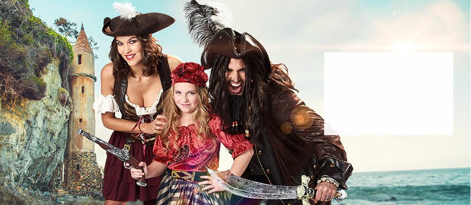 Déguisements et accessoires pirates