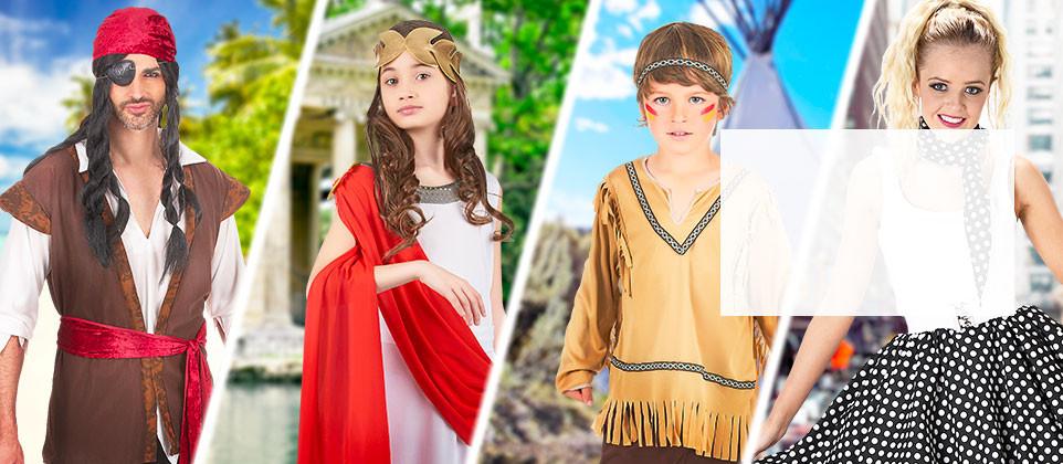 Déguisements, accessoires et déco fêtes à thème