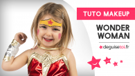 Tutoriel maquillage Wonder Woman
