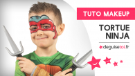 Tutoriel maquillage Tortue Ninja
